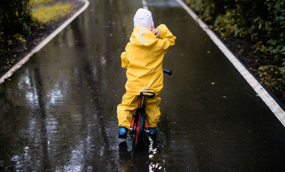 kinder regenjas